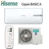 Кондиционер HISENSE BASIC A AS-18HR4SMADL01G